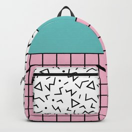 Memphis Pattern 33 / 80s - 90s Retro Backpack