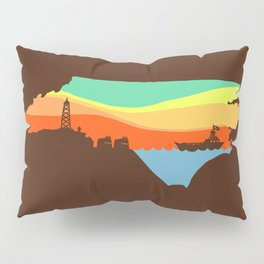 North Carolina Pillow Sham
