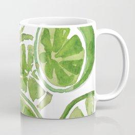 Watercolor LIMES Coffee Mug