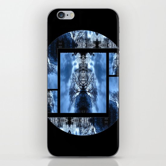 Tree Man Night photography  iPhone & iPod Skin