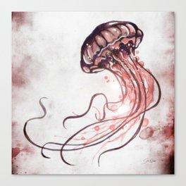 Jellyfish II Canvas Print