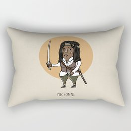 Michonne Rectangular Pillow