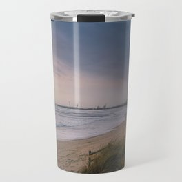 Rodanho beach, Viana do Castelo, Portugal. (II) Travel Mug