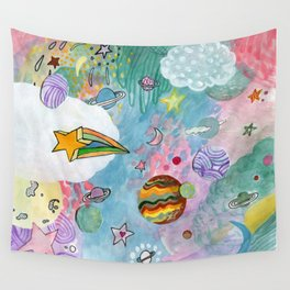 Planets Wall Tapestry