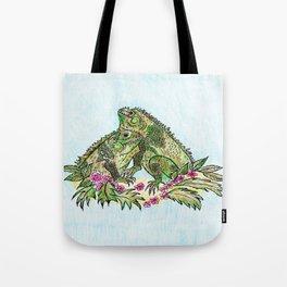 Las Iguanas Tote Bag