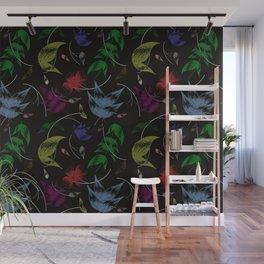 ornamentos florales Wall Mural