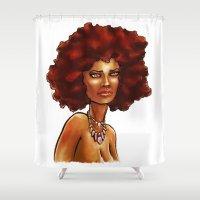eevee Shower Curtains featuring Eevee by DANIELIN3D