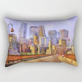 The city is calling my name today. Rectangular Pillow