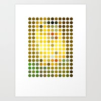 gustav klimt Art Prints featuring Gustav Klimt Remixed (2009) by Gary Andrew Clarke
