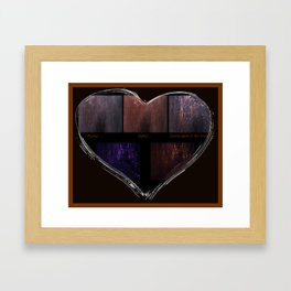 Getting There (Focusing On the Emotion) Framed Art Print
