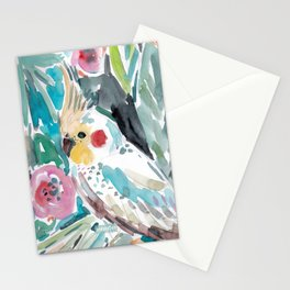 Parasol the Cockatiel Stationery Cards