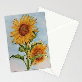 Sunflowers & Ladybugs for Jess Stationery Cards