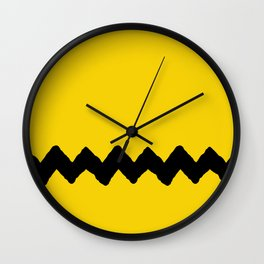 Charlie Brown Stripes Wall Clock