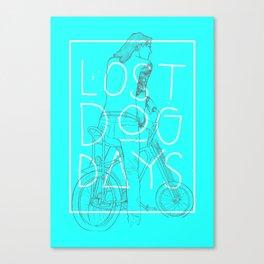 LOST DOG DAYS Canvas Print