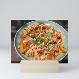 nachos for all  Mini Art Print
