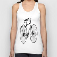 copenhagen Tank Tops featuring Copenhagen  by PaperandPaintbrush