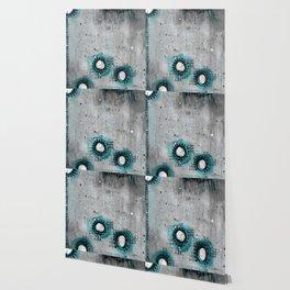 Charcoal Circles Low Wallpaper