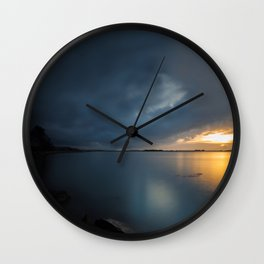 Along The Elk Wall Clock