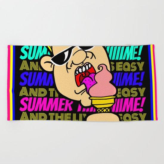 Summertime! Beach Towel