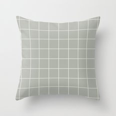 Grid Oyster Bay Throw Pillow