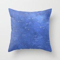 archer Throw Pillows featuring Archer by Lukasz Baka
