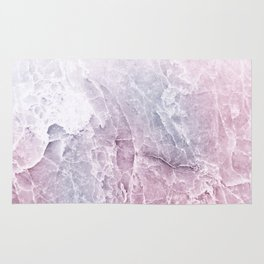 Sea Dream Marble - Rose and white Rug