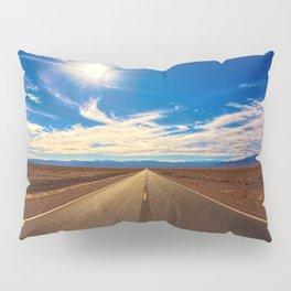 Desert Road on a Sunny Day Pillow Sham