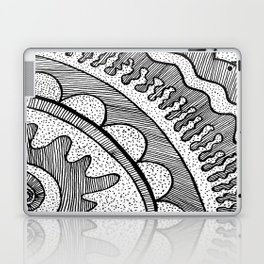 Lines & Dots Laptop & iPad Skin