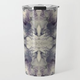 Psychedelic Purple Marble Travel Mug