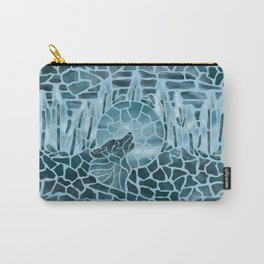 Moonlight Story (Light Blue) Carry-All Pouch