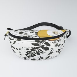 Earth Abstract Fanny Pack