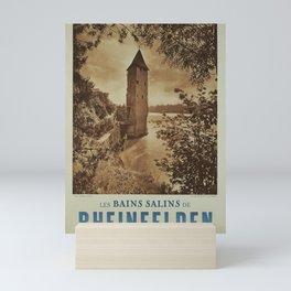 decor Les Bains salins de Rheinfelden Mini Art Print