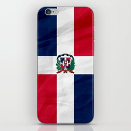 The Dominican Republic - North America Flags iPhone Skin