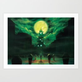 New Student in Town Art Print