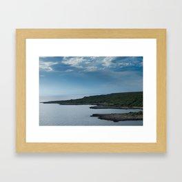 Porto Selvaggio Framed Art Print