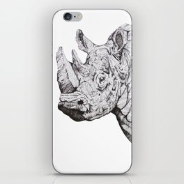 Northern White Rhino iPhone Skin