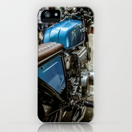 Suzki Blue iPhone Case