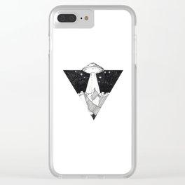 Art - 1 Clear iPhone Case