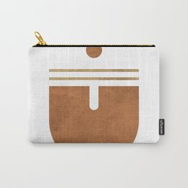 Maiden Voyage - Contemporary Minimalist Abstract 2 Carry-All Pouch