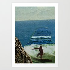 The Cove Art Print