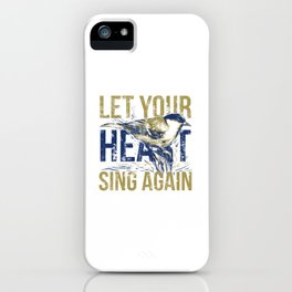 Sing again iPhone Case