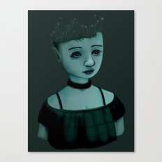 Night Girl II Canvas Print