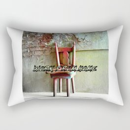 the magic chair / work from home 2 Rectangular Pillow