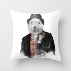 Mr. Phil Throw Pillow