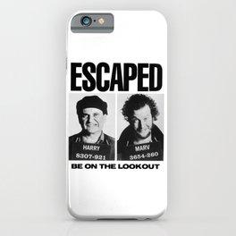 Wet Bandit Escape iPhone Case