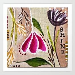 Shine by Artsee Spree Art Print