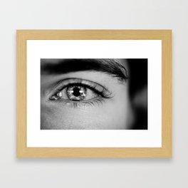 Time in the Eye Framed Art Print