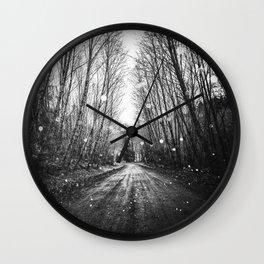 Follow the Fireflies Wall Clock