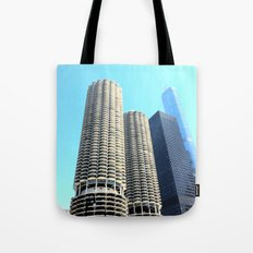 Marina City Tote Bag