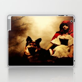 Red and Her Wolf Laptop & iPad Skin